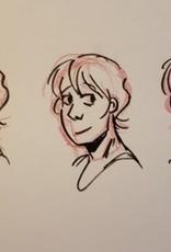 Laura H Drawing Youth Art Class Face Basics Sat Feb 29