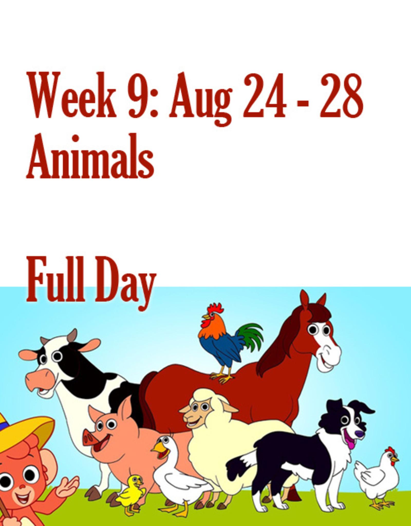 Art Camp Art Camp: Week Nine August 24 - Aug 28 Full Day