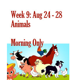 Art Camp Summer Art Camp: Aug 24 - Aug 28 Morning