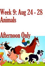 Art Camp Art Camp: Week Nine August 24 - Aug 28 Afternoon