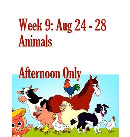 Art Camp Summer Art Camp: Aug 24 - Aug 28 Afternoon