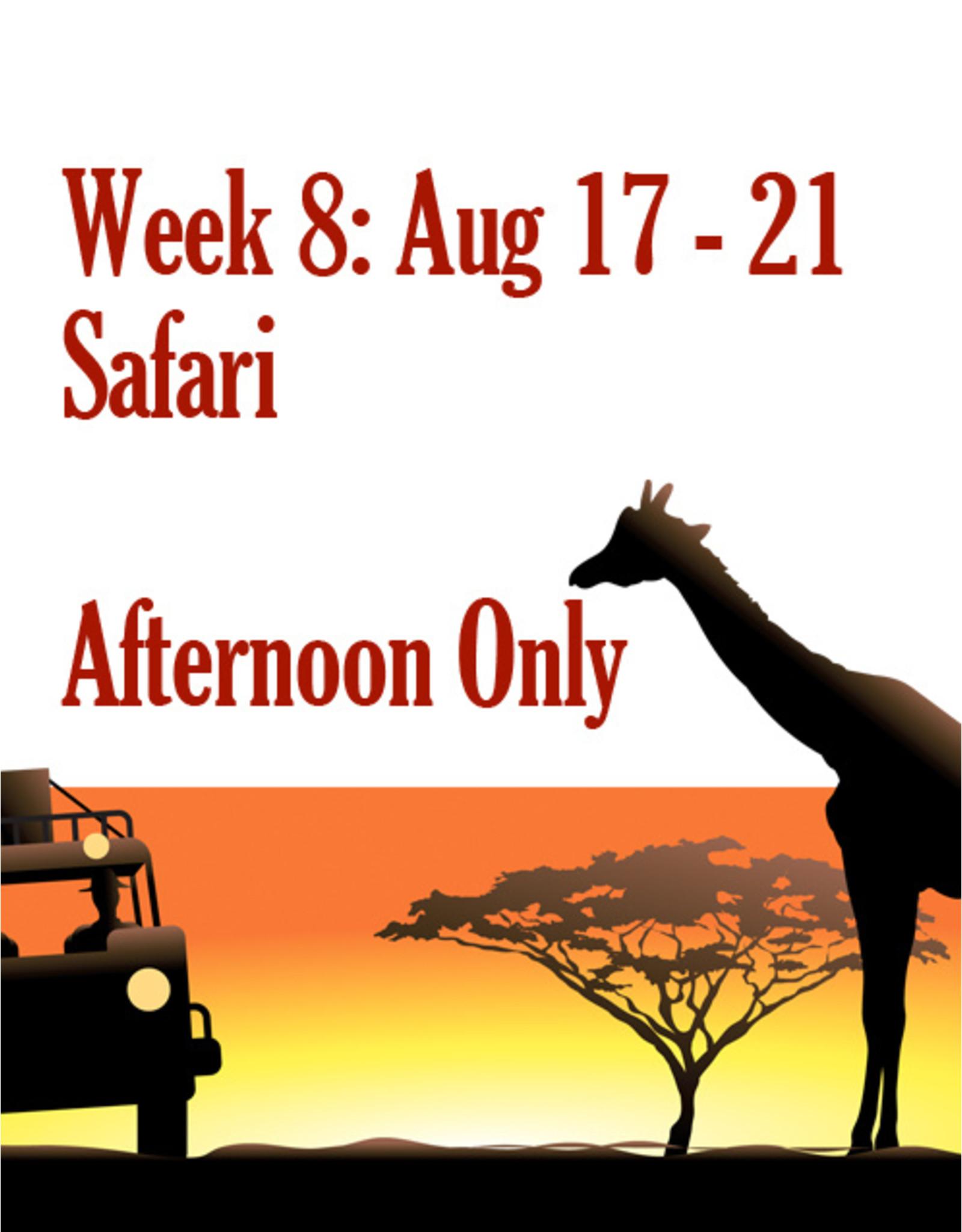 Art Camp Summer Art Camp: Week Eight August 17 - Aug 21 Afternoon