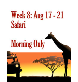 Art Camp Summer Art Camp: Aug 17 - Aug 21 Morning