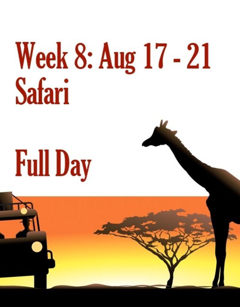 Art Camp Summer Art Camp: Week Eight August 17 - Aug 21 Full Day