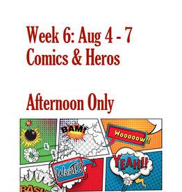 Art Camp Summer Art Camp: Aug 4 - Aug 7 Afternoon