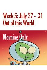 Art Camp Art Camp: Week Five July 27 - July 31 Morning