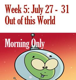 Art Camp Summer Art Camp: July 27 - July 31 Morning