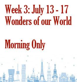 Art Camp Summer Art Camp: July 13 - July 17 Morning