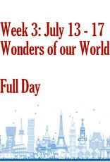 Art Camp Art Camp: Week Three July 13 - July 17 Full Day