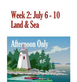 FTLA Summer Art Camp: July 6 - July 10 Afternoon