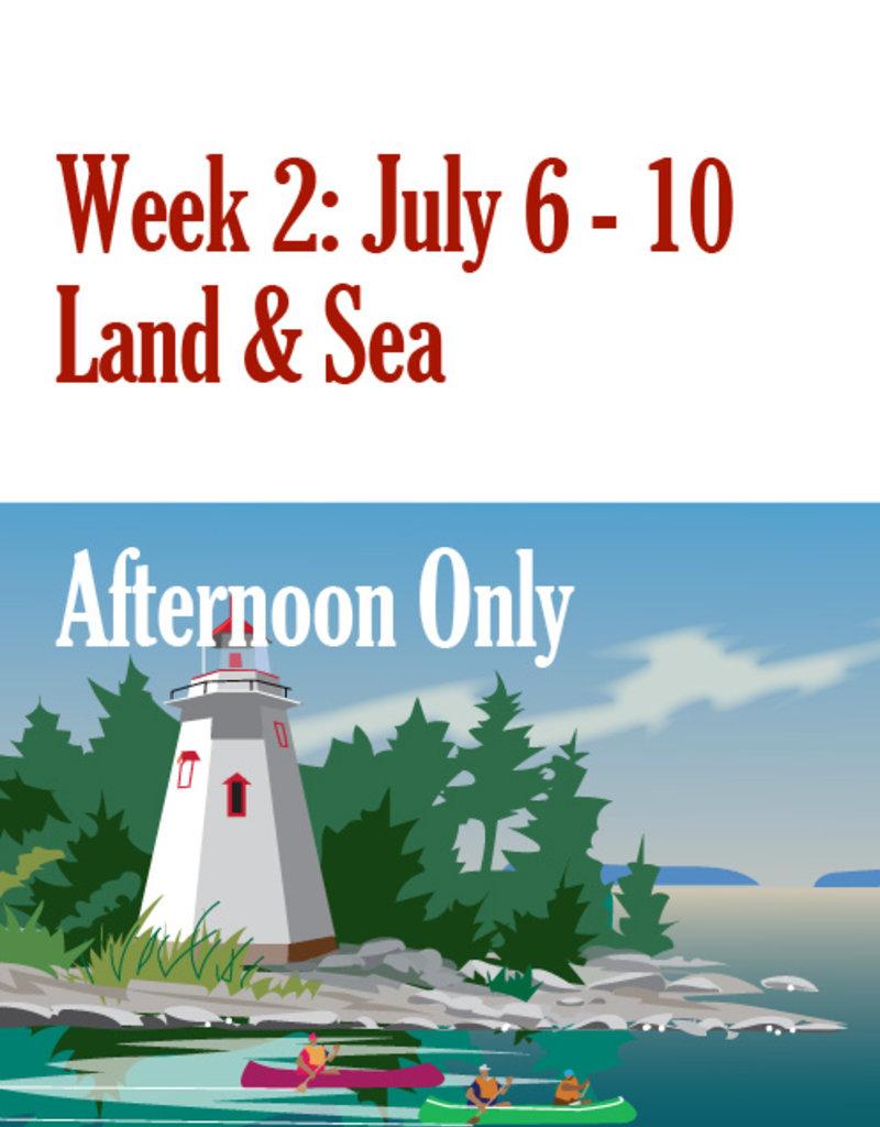 FTLA Art Camp: Week Two July 6 - July 10 Afternoon