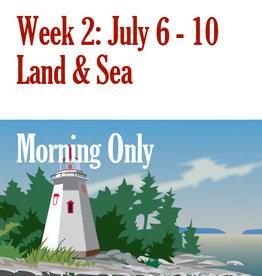 Art Camp Summer Art Camp: July 6 - July 10 Morning