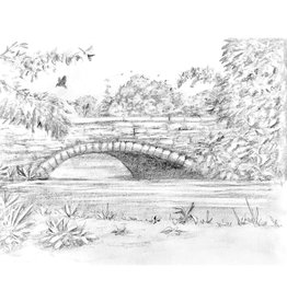 Nick W Cobble Stone Bridge Drawing Class Sat Mar 21