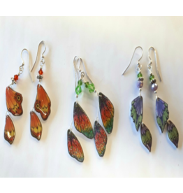 Mary M Jewellery Butterfly Wing Earrings Tues Apr 28