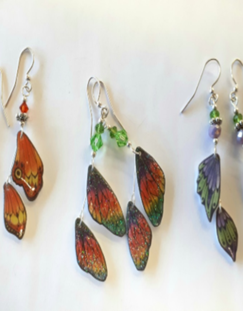 Mary M Jewellery Butterfly Wing Earrings Tues Apr 28