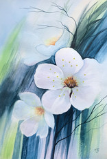 Tamara S Art Class:  Watercolour Spring Flowers Thur Apr 9 6:00 - 8:00 pm