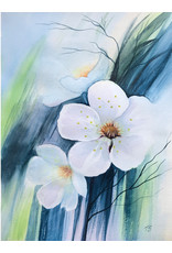 Tamara S Art Class:  Watercolour Spring Flowers Thur Apr 9 6:00 - 8:00 pm