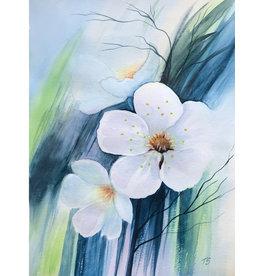 Tamara S Watercolour Spring Flowers Thurs Apr 9
