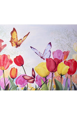 Tamara S Art Class:  Acrylic Tulips and Butterflies Thurs Apr 16 6:00 - 8:00 pm