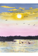 Tamara S Art Class: Watercolour Geese on the Pond at Sunset Thur Apr 23 6:00 - 8:00 pm