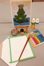 Amsa  Online Sculpturing Queen of the Lily pad Sat Mar 28