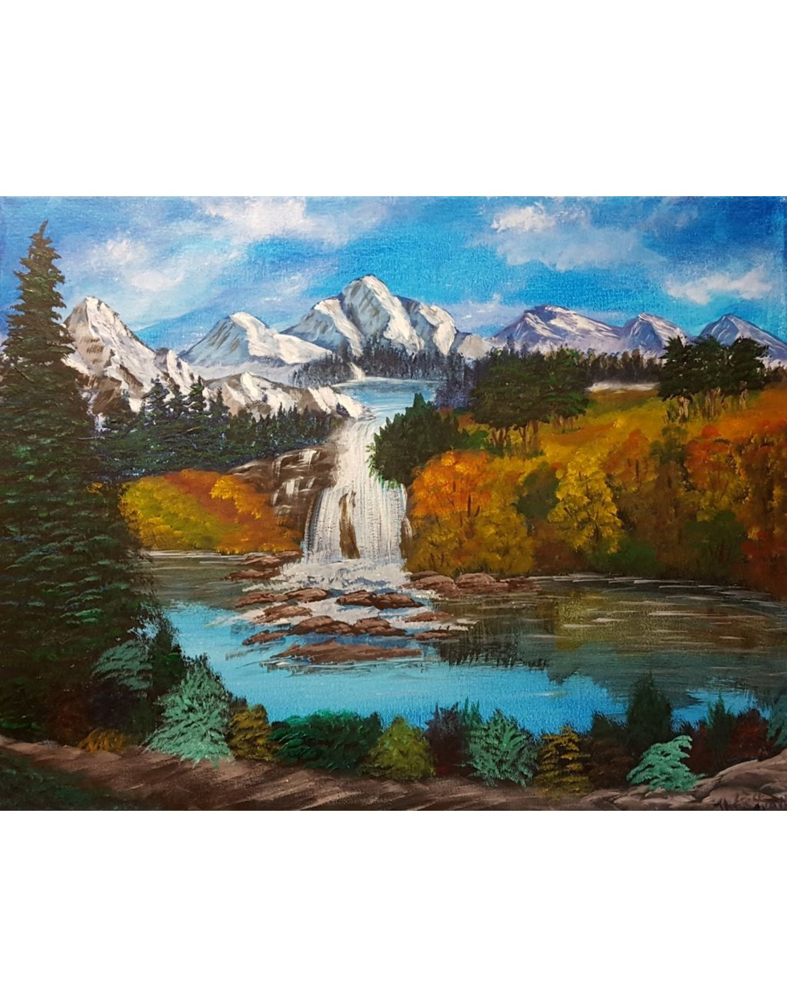 Therese G Autumn Waterfall