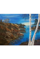Therese G Art Work: Therese Grawey Landscape #4