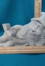 ART KIT Art Kit: Ceramic Gnome book reading#1