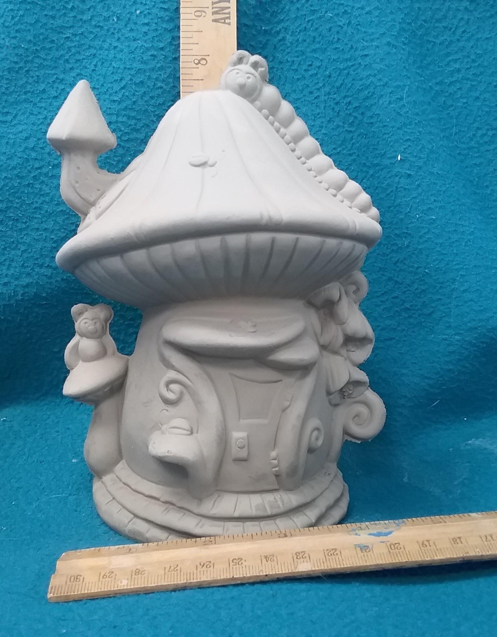 ART KIT Art Kit: Ceramic Fairy House caterpillar #1