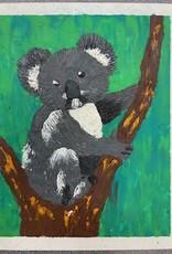 ART KIT Plasticine Relief Koala Art Kit