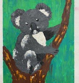 ART KIT Art Kit: Plasticine Relief Koala