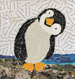 ART KIT Paper Collage Penguin Art Kit