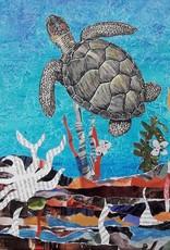 ART KIT Art Kit: Paper Collage Sea Turtle
