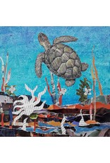 ART KIT Art Kit: Paper Collage Sea Turtle