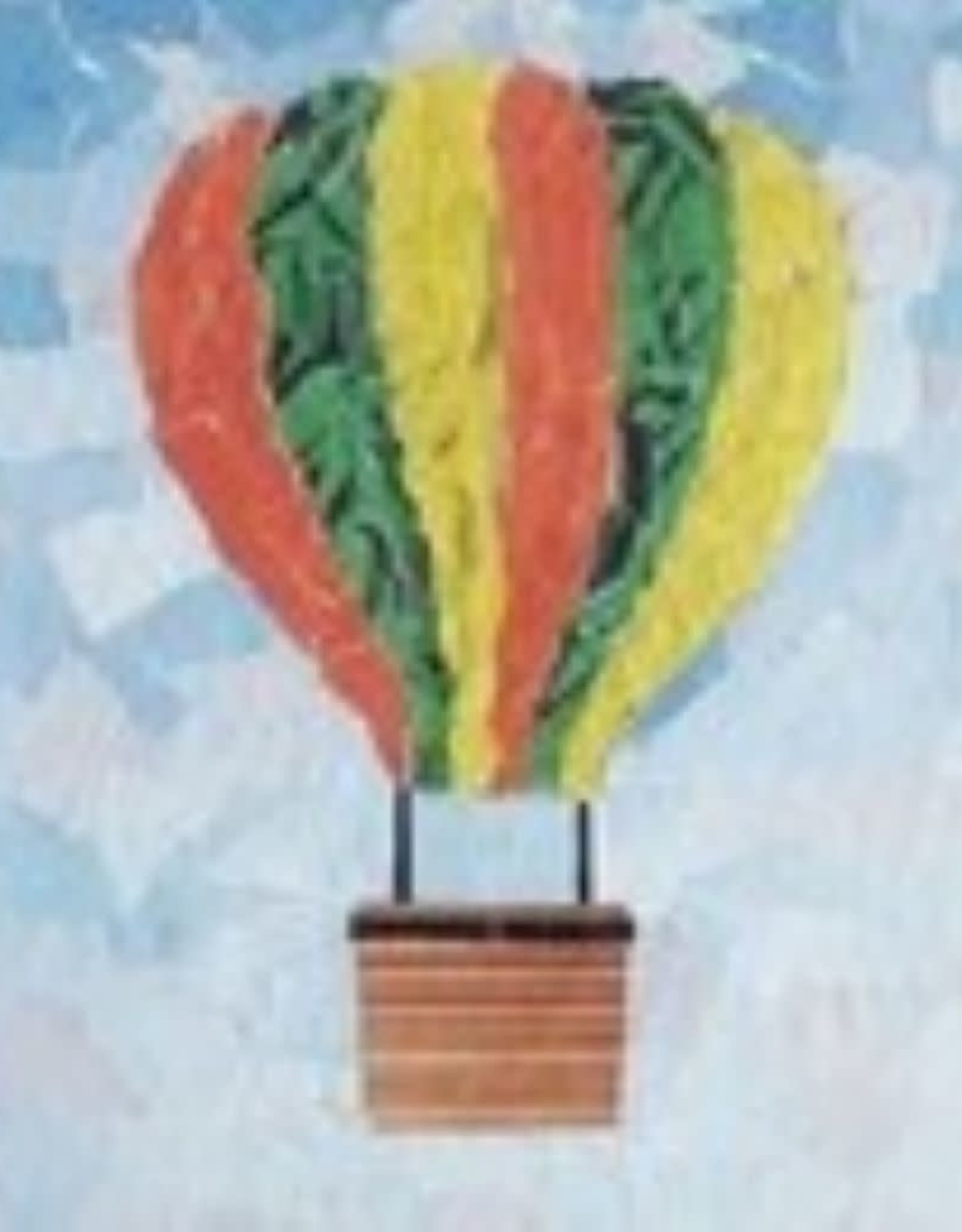 ART KIT Paper Collage Hot Air Balloon Art Kit