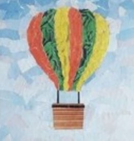ART KIT Paper Collage Hot Air Balloon Art Kit