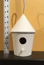 ART KIT Art Kit: Painting Bird House White