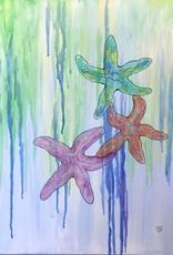 ART KIT Art Kit: Painting Starfish