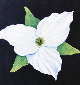 Art Class: Acrylic Trillium Wed July 8