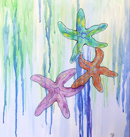 Art Class: Acrylic Starfish Wed July 8