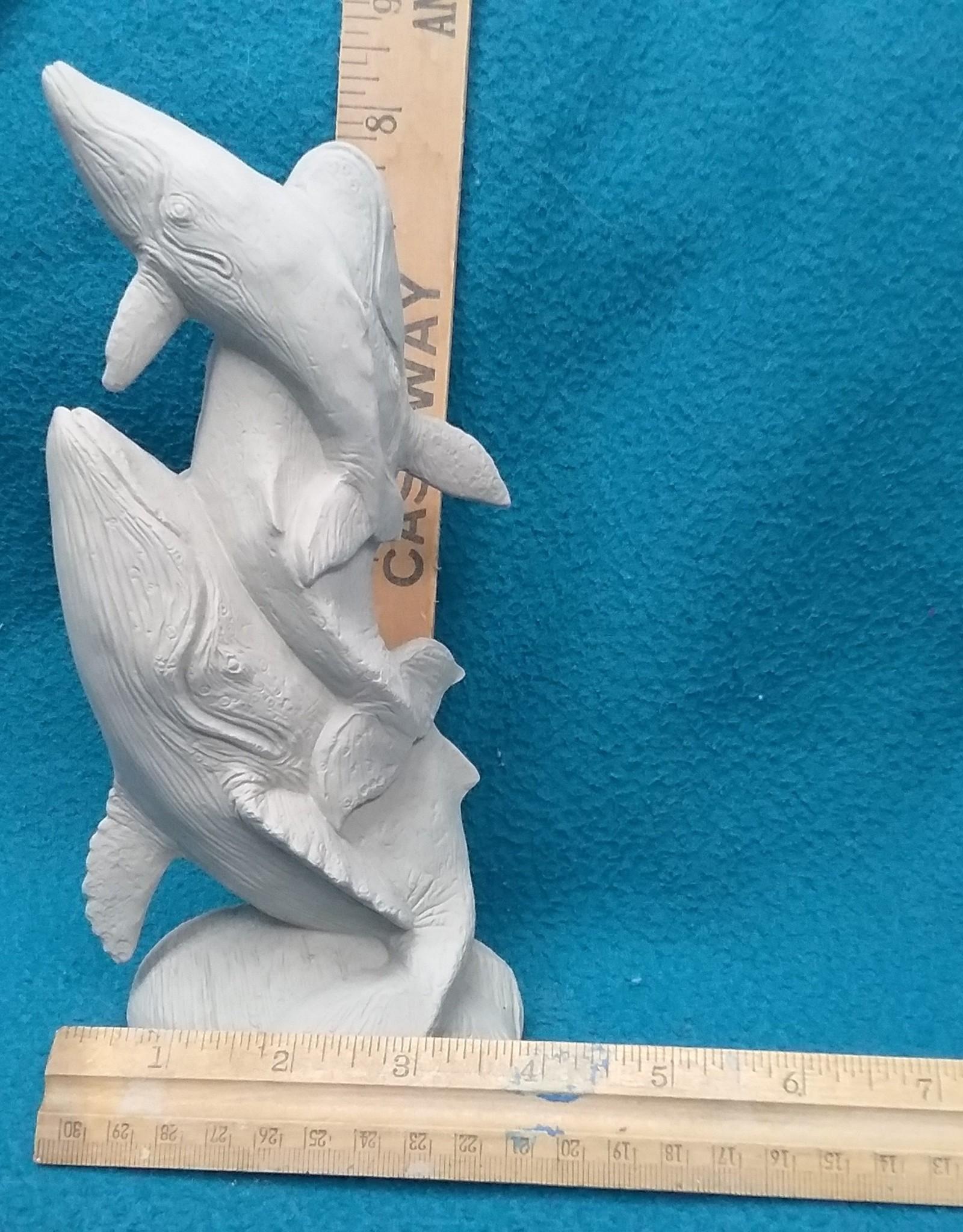 ART KIT Art Kit: Ceramic whale