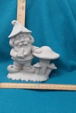 ART KIT Art Kit: Ceramic Gnome mushroom#3