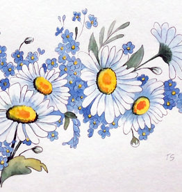 Art Class:  Watercolour Daisies Wednesday July 22 2 pm to 4pm