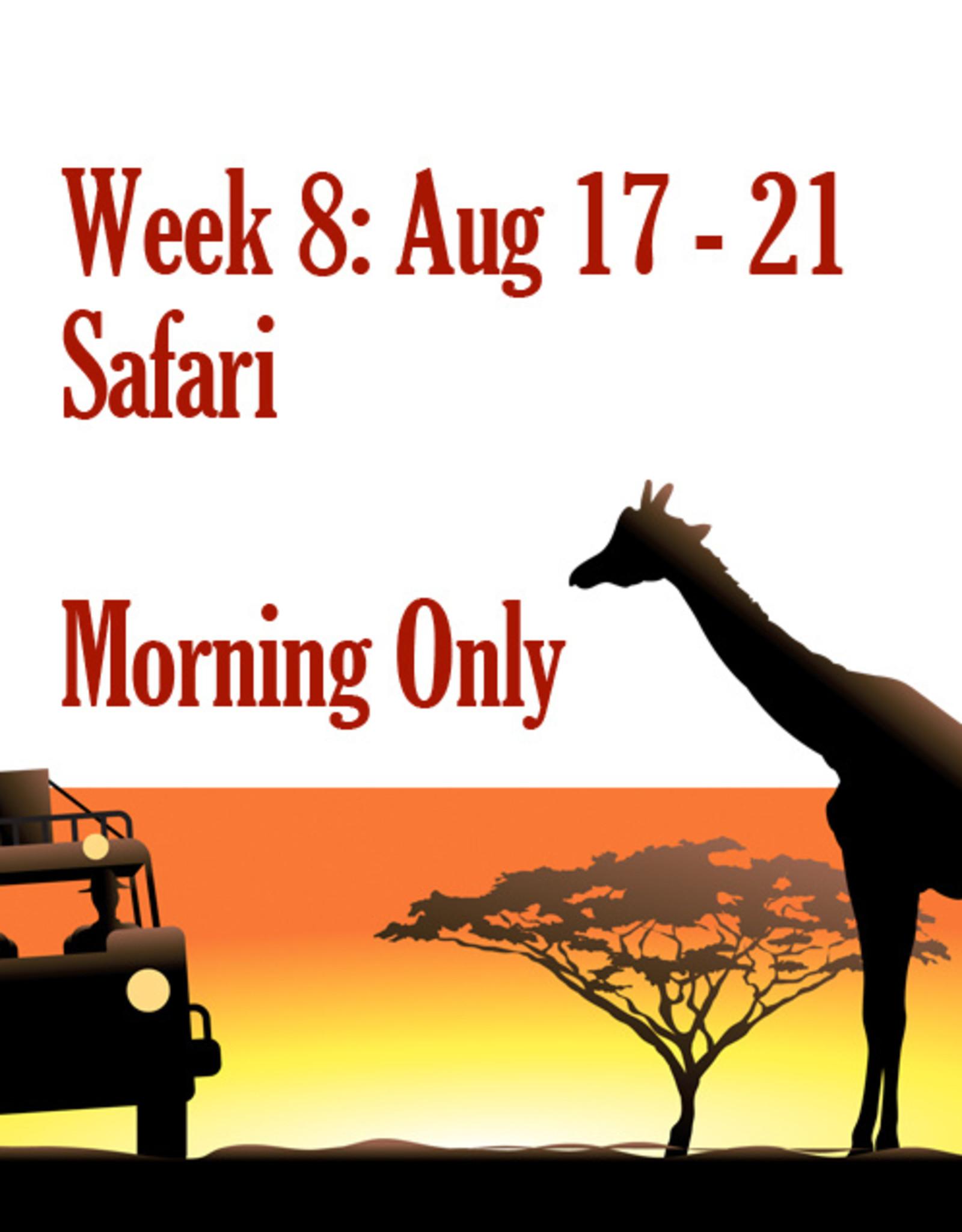 Art Camp Art Camp: Week Eight August 17 - Aug 21 AM
