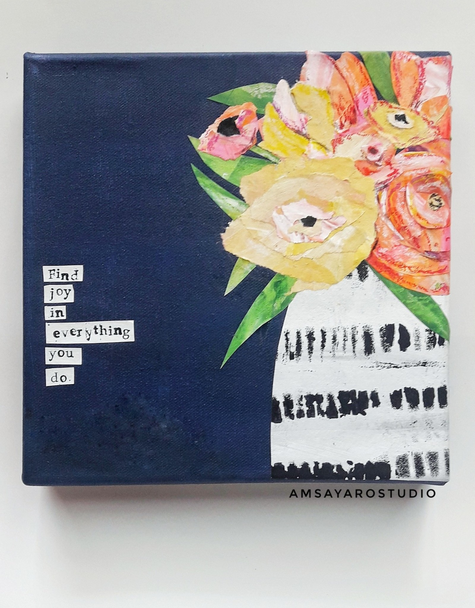 Amsa Art Class: Mixed Media Tues Aug 11 6-7:30 pm