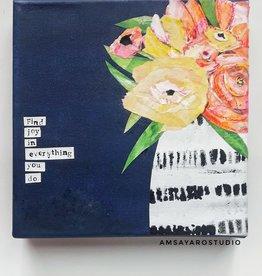 Amsa Art Class: Mixed Media Tues Aug 11 6-7:30 pm