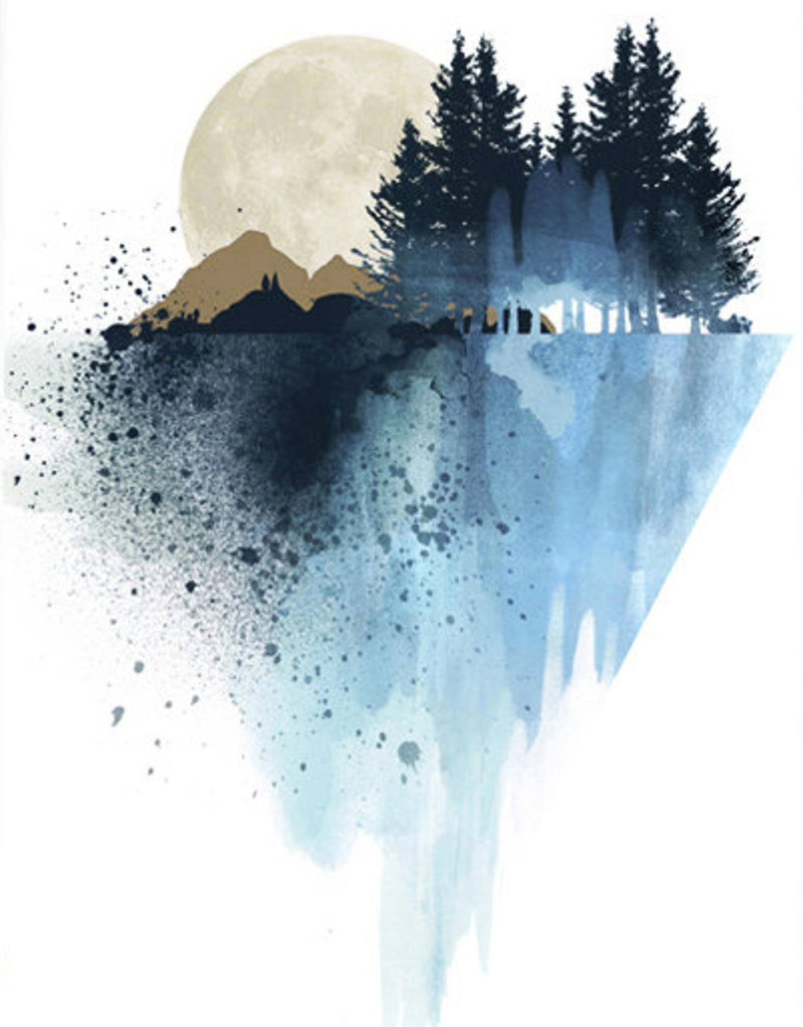 Tamara S Art Class: Watercolour Moonlight Tues Aug 4