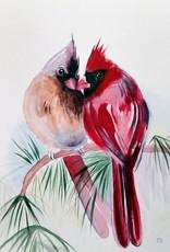 Tamara S Watercolour Cardinal Wed Aug 12 11am to 1pm