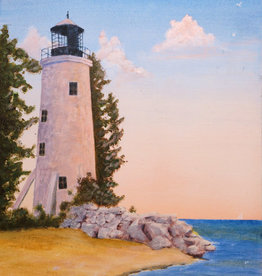 Jim G Acrylic  Pelee Island Lighthouse Thurs  Sept 24 6:00 to 8:00  pm