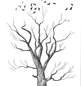 Tamara S Pen & Ink  Tree Tues Oct 6
